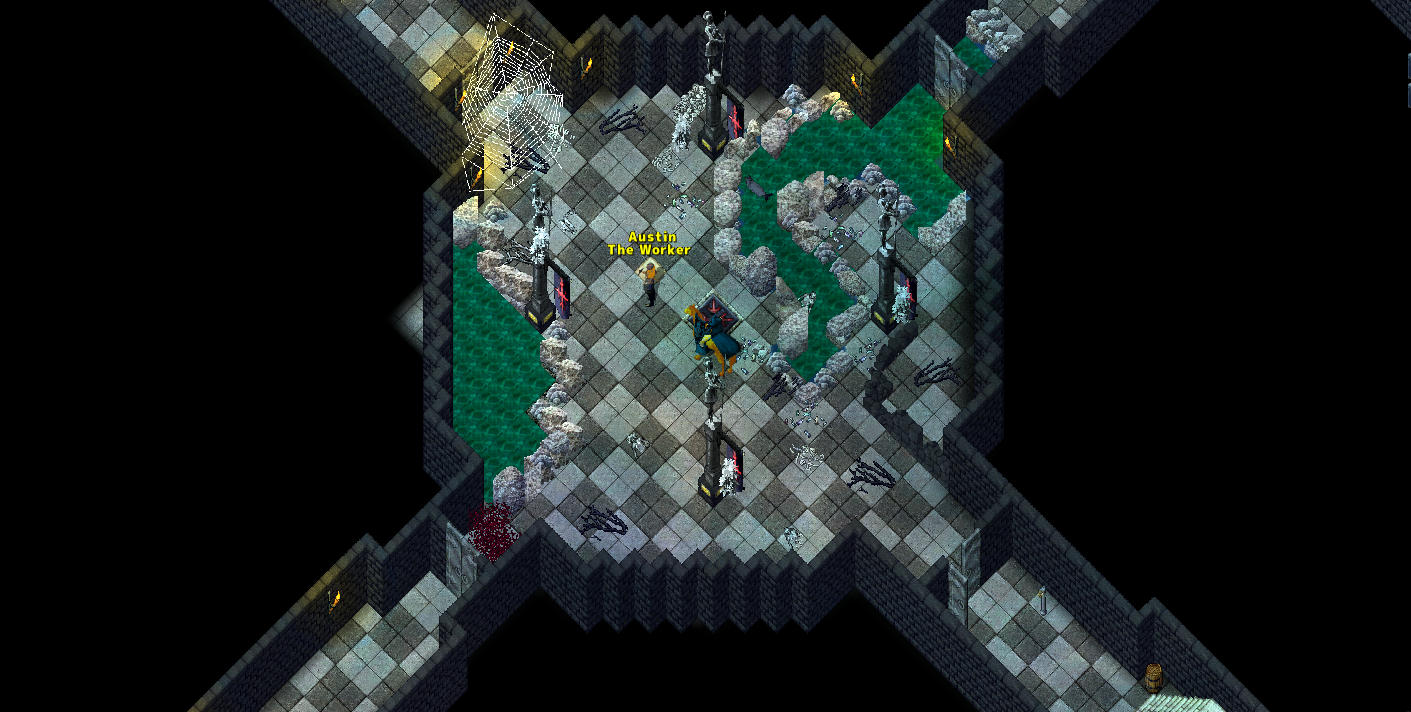 Enter Blackthorn Dungeon
