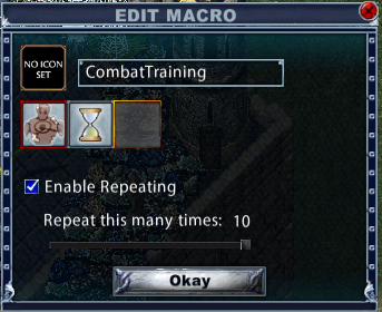 EC Combat Training Macro