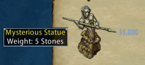 Mysterious Statue