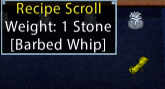 Barbed Whip Recipe