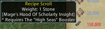 Mage's Hood of Scholarly Insight Recipe